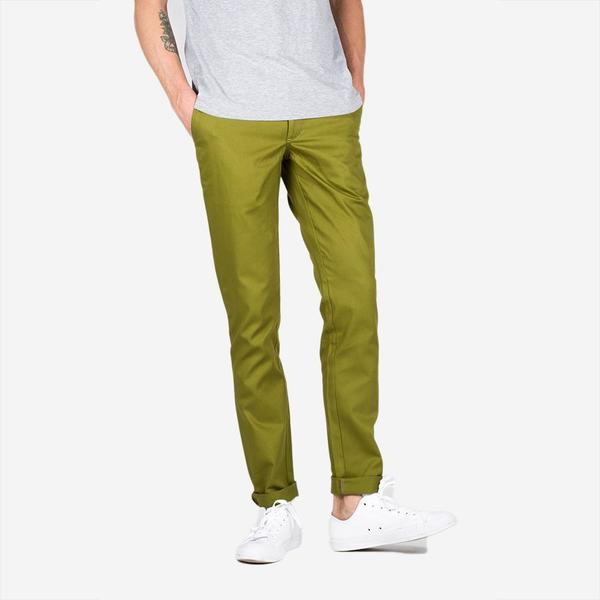 Bon Vivant Keenan Lightweight Twill Chino - Green