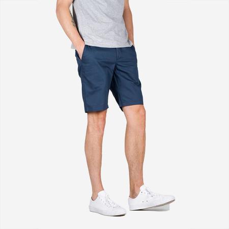 Bon Vivant Keenan Lightweight Twill Shorts - Blue