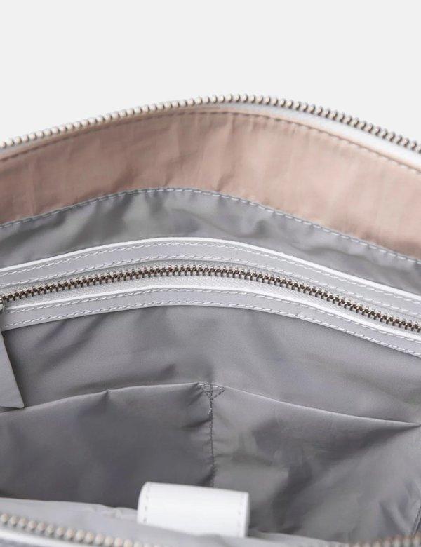Powder Nylon//Leather Sanqvist Marta Backpack Bag
