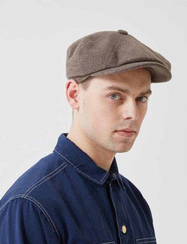 26224c5f Stetson Hats Stetson Hatteras Newsboy Cap (Wool/Cashmere) - Mouse Brown