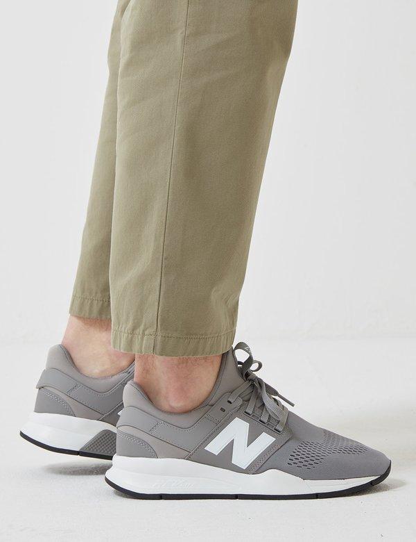 14450c582a134 New Balance 247 Sport Core+ Trainers - Grey/Teal | Garmentory