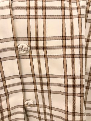 Mr. Larkin Sille Top - Curtain Plaid