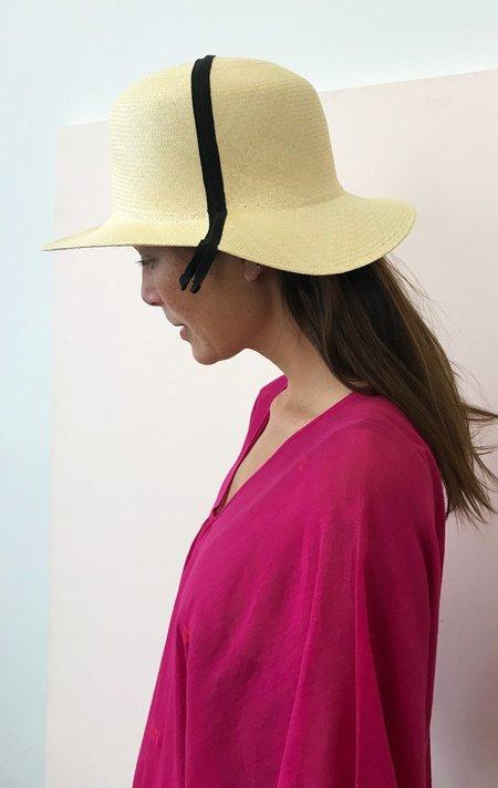 Mature Hat Folding Panama Hat