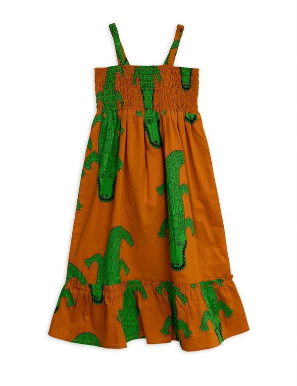 Kids Mini Rodini Crocco Smock Dress