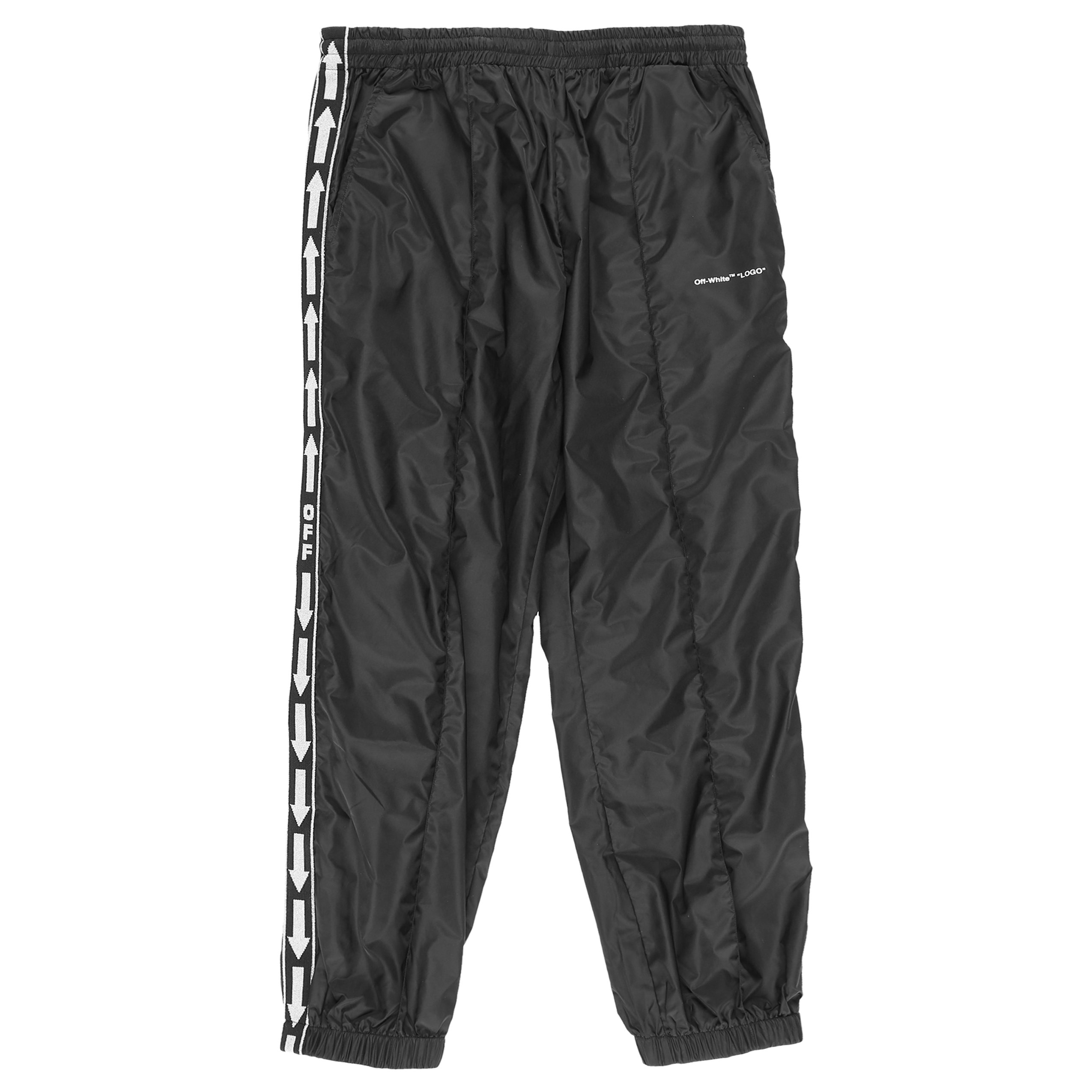 7f80e9c9 Off-White Light Nylon Jogging Pants - BLACK | Garmentory