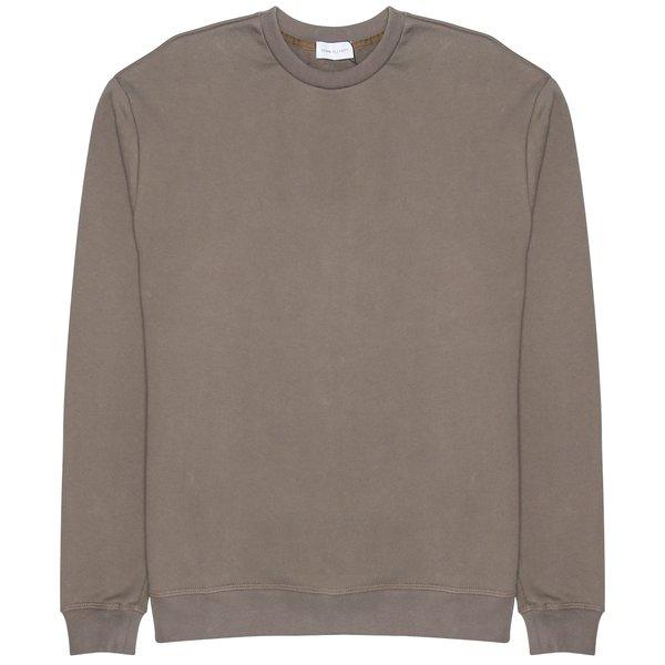 d6db1382508 John Elliott Oversized Cropped Crewneck Sweatshirt - BROWN