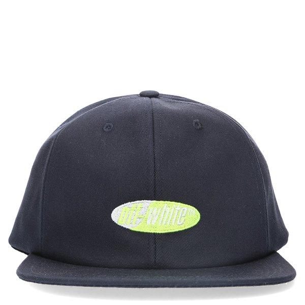 447071af041337 Off-White Split Logo Snapback Cap - Blue/Yellow | Garmentory