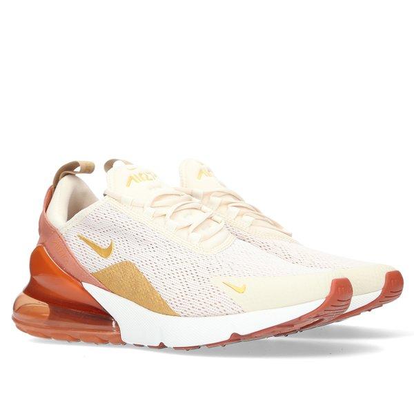lowest price a097c 557c3 Nike Air Max 270 - Light Cream/Metallic Gold/Terra Blush