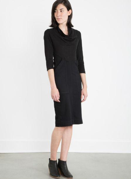 PRAIRIE UNDERGROUND 3/4 Sleeve Denim Day Dress