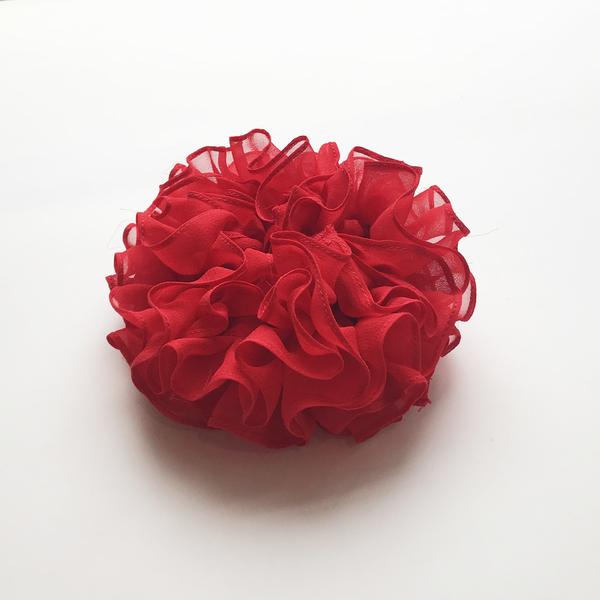 Maryam Nassir Zadeh Carnation Scrunchie