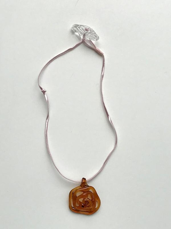 Maryam Nassir Zadeh Honeycomb Necklace
