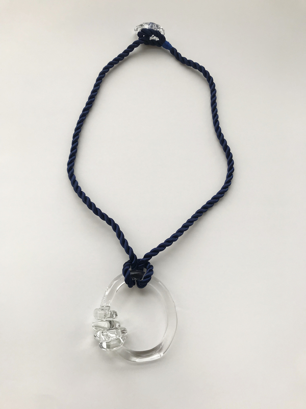 Maryam Nassir Zadeh Knot Ring Necklace
