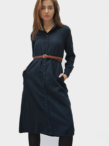 CP SHADES Maxi Shirt Dress