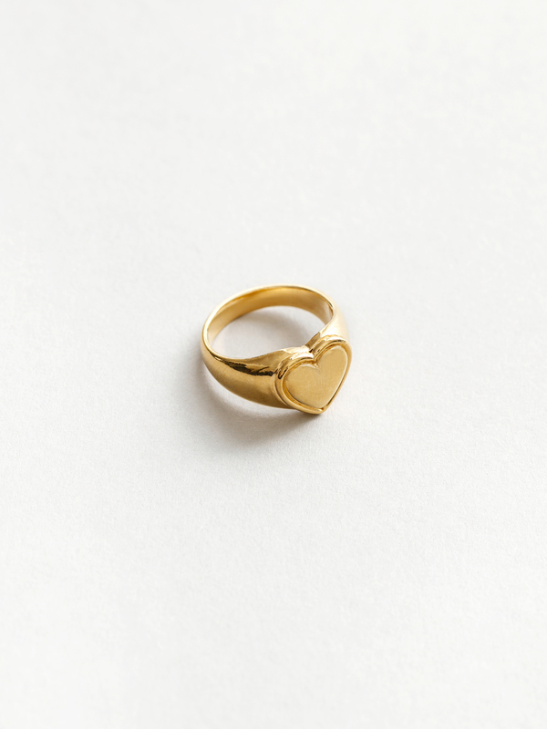 Wolf Circus Amourette Signet Ring