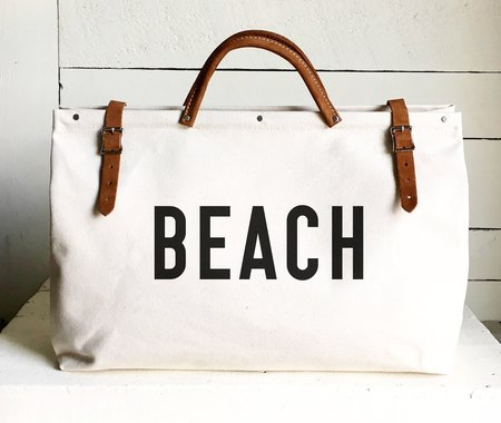 Forestbound Beach Bag - off white
