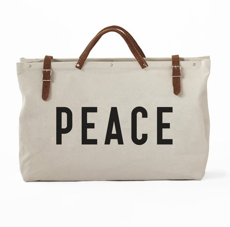 Forestbound Peace Bag - off white