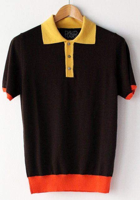 David Hart THE JONAS POLO - black