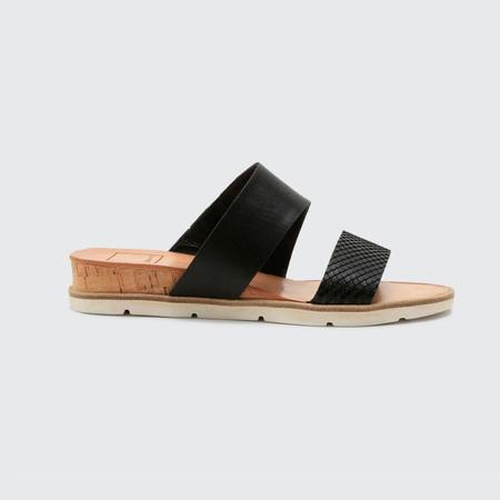 Dolce Vita Vala Leather Slides