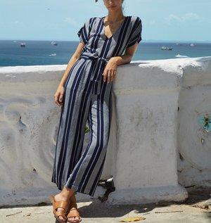 Rails Angela Jumpsuit - Mediterranean Stripe