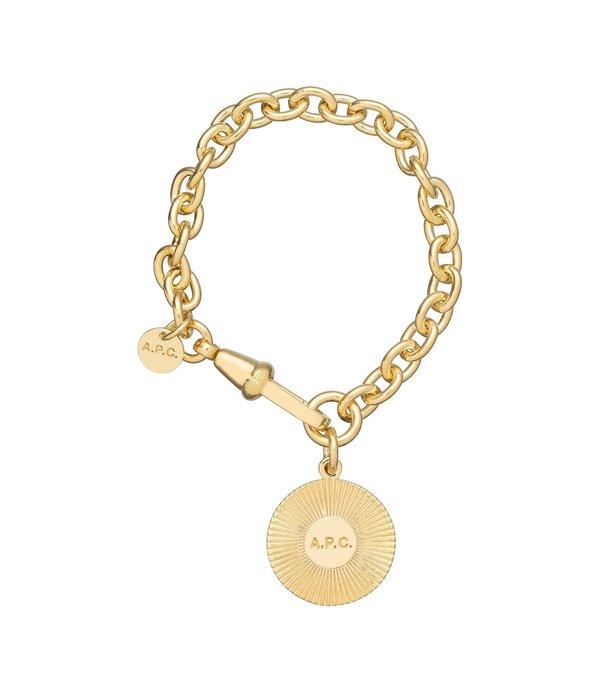 a1022d22f24a A.P.C. Martha Bracelet - Gold | Garmentory