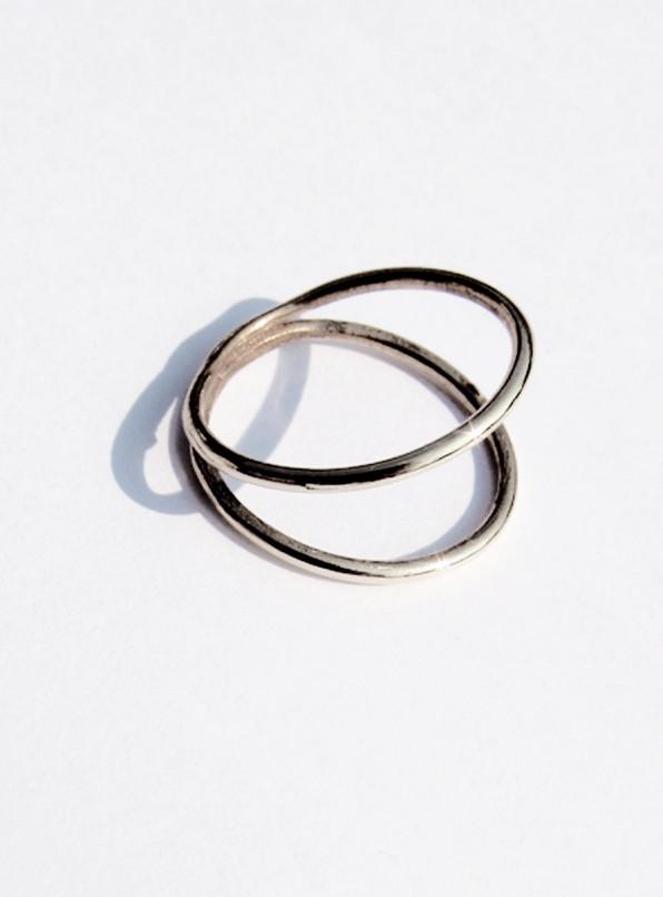 Faris Sterling Silver Wrap Ring