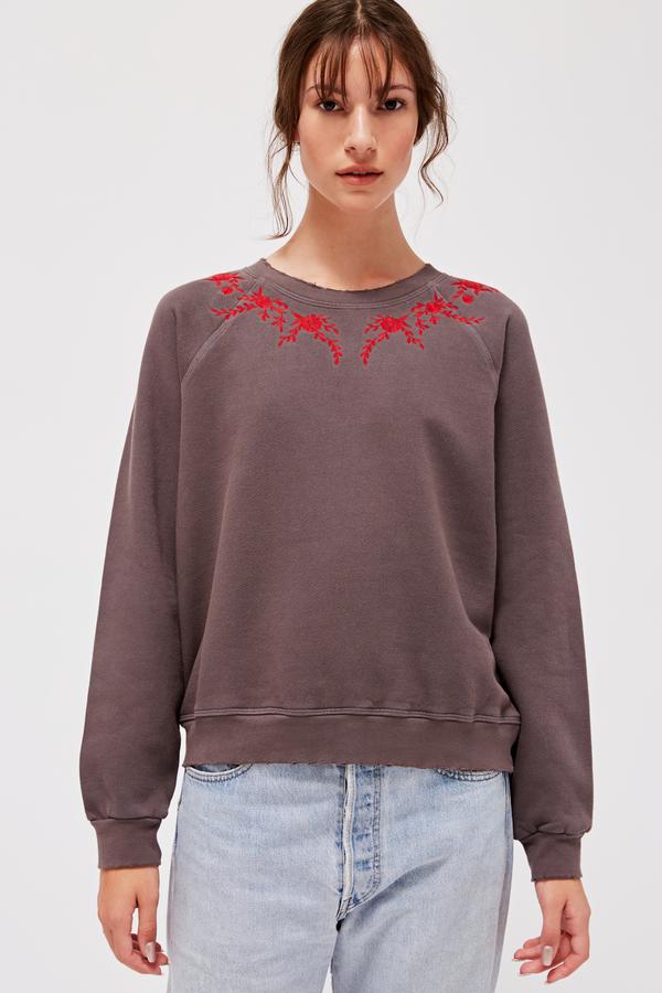 Lacausa Embroidered Surf Sweatshirt