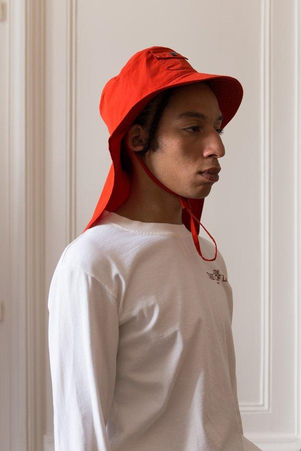 fced654186b PHIPPS Mullet Hat - RED