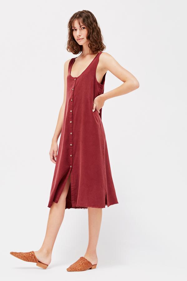 Lacausa Reversible Silk Dress