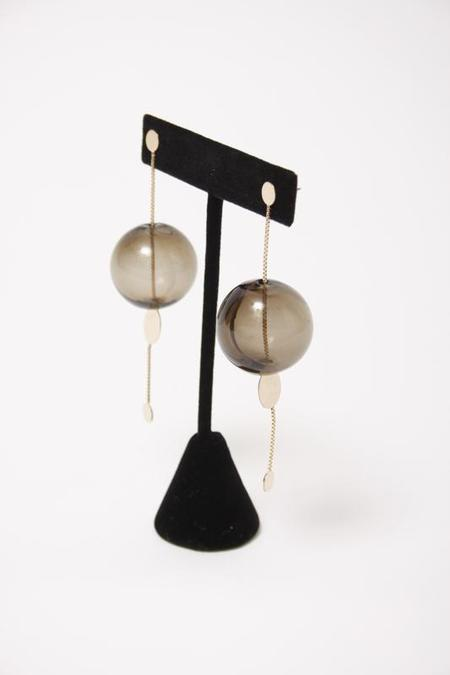 BY BOE GLASSY ORBIT EARRINGS