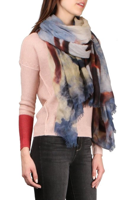 AMA Pure Gate Scarf - Blue