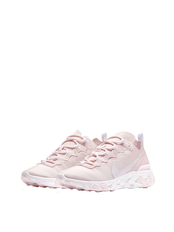 usa cheap sale various design special sales Nike React Element 55 - Pale Pink/White