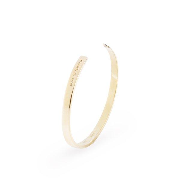 HNDSM New York Bracelet - Brass