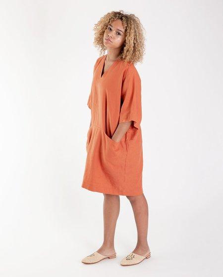 beaumont organic Bia Madder linen dress