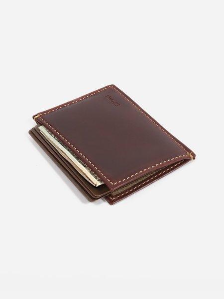 Slimmy 73mm  OG X 1-Pocket Wallet - Oil Tan