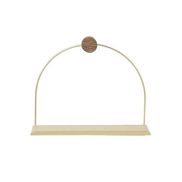 Ferm Living Bathroom Shelf - Brass