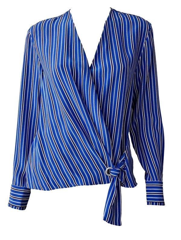 b316ec3b9ce2 Rag & Bone Felix Stripe Popover - Blue Multi | Garmentory