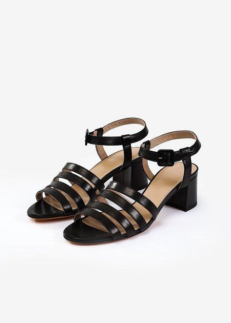 Maryam Nassir Zadeh Low Sandal - Black Palma