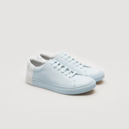 THEY Two-Tone Low - Sky Blue/White