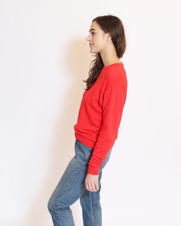 Corinne Boyfriend Sweater - Poppy