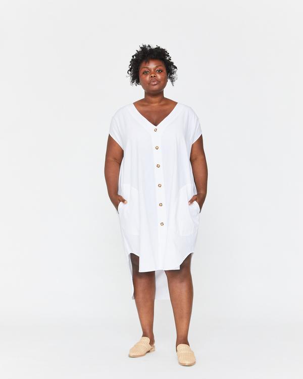 Esby Delphine Button Down Dress