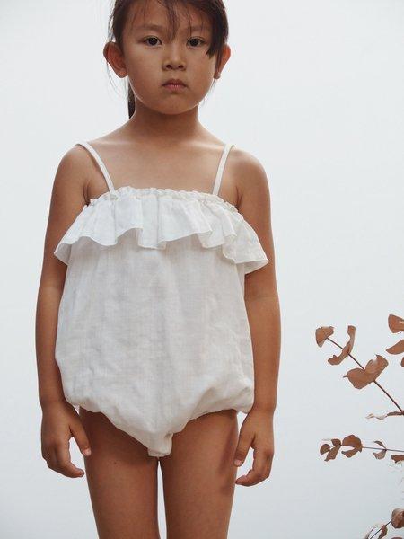 kids Liilu Sunsuit - OFF WHITE