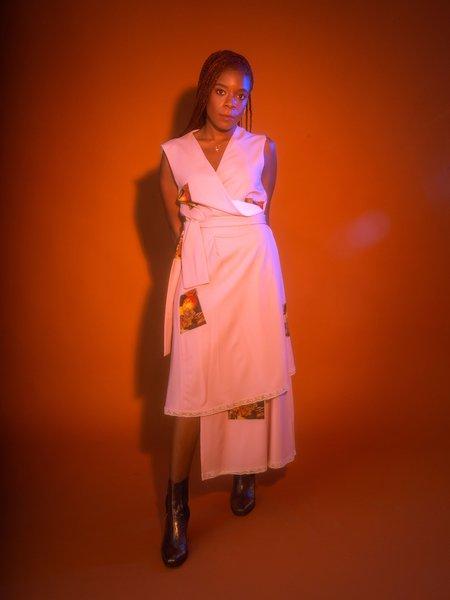 Au Jour Le Jour Caravaggio Wrap Dress