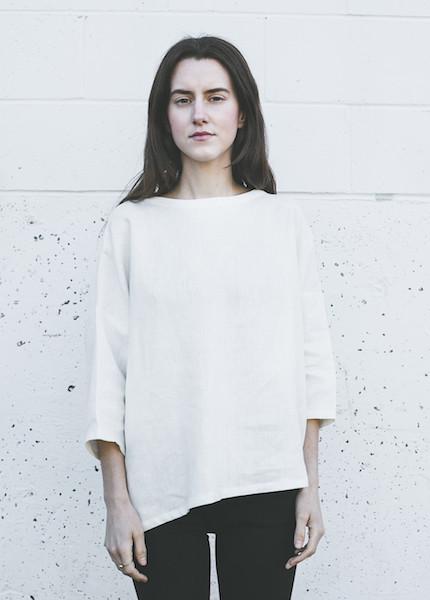Sunja Link Pullover in Cream