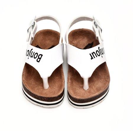 Kids BOXBO Charly Sandal - white