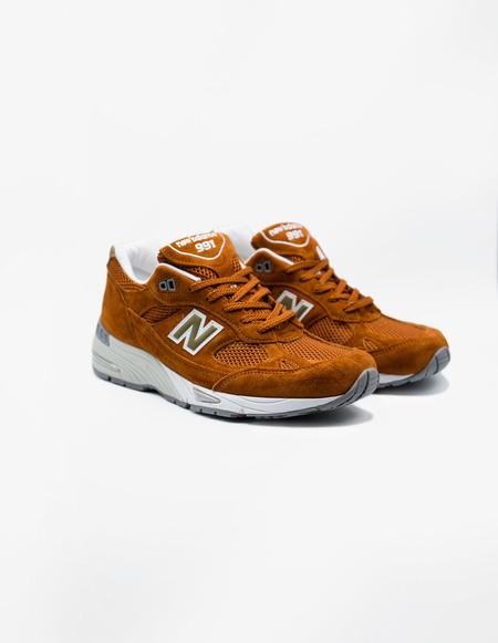 New Balance M991SE sneaker - Burnt Orange