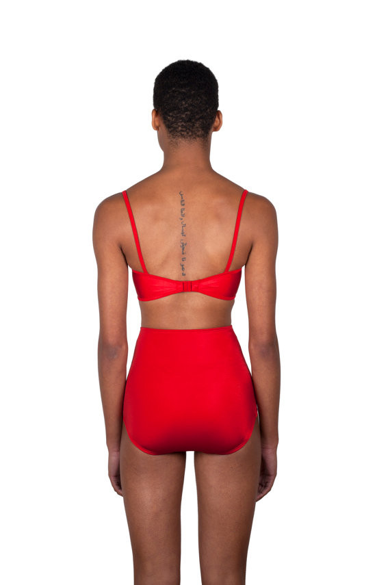 Minnow Bathers Shayne Bottoms (Red)