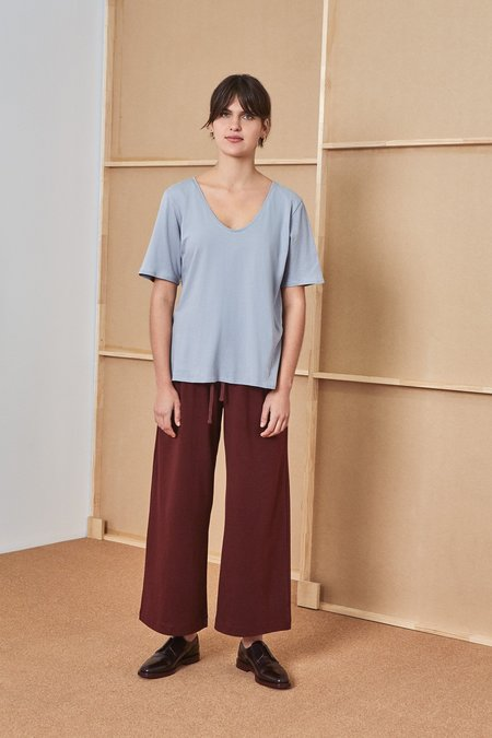 Kowtow V Tee - cloud