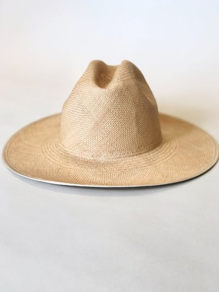 Brookes Boswell Savoy Straw Hat - tan