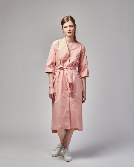 Gary Bigeni Matteo cut-out cotton dress