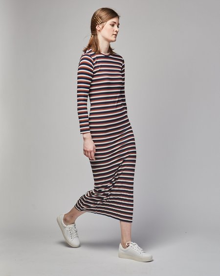 Gary Bigeni Soso dress - brown stripes